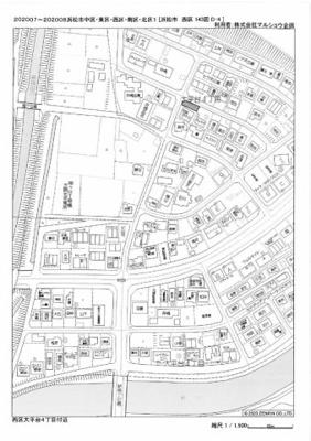 【地図】大平台4丁目130-11駐車場