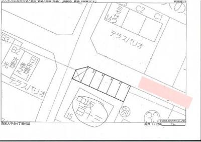 【区画図】大平台4丁目130-11駐車場