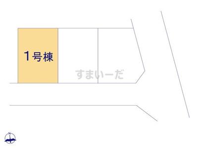 【区画図】リーブルガーデンS相楽郡精華町狛田1丁目