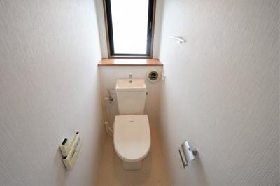 【トイレ】❖北東・北西角地♪リフォーム戸建☆ビルトインガレージ付☆水回り集約 家事動線良好❖
