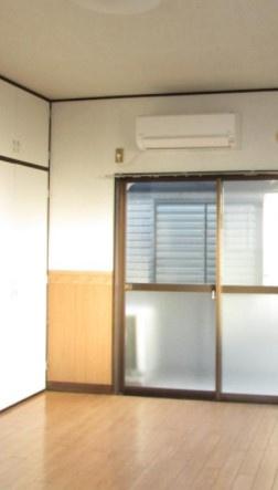 【寝室】中野コーポ