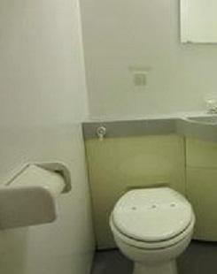 【トイレ】スカラすくも 礼金0 駅近 2人入居可