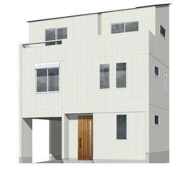 【完成予想図】豊島区巣鴨4丁目 新築戸建 7180万円