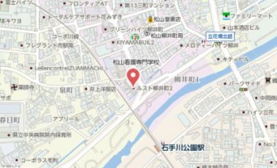 【地図】ルスト柳井町Ⅱ