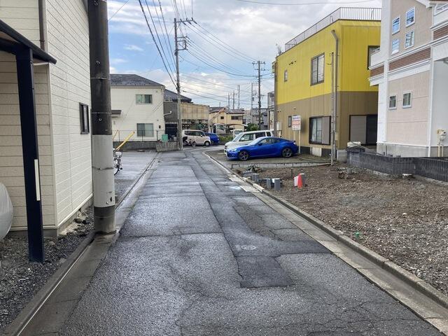 【前面道路含む現地写真】中河原 新築戸建
