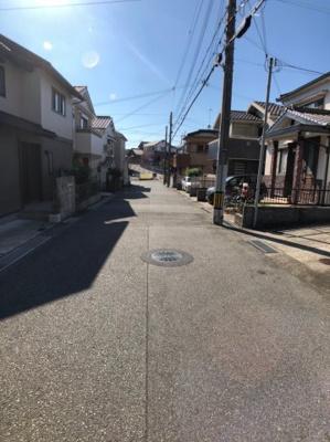 【前面道路含む現地写真】神戸市西区王塚台2丁目売土地