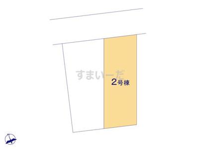 【区画図】リナージュ高槻市松ヶ丘21-1期