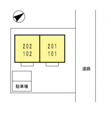 【区画図】プチメゾン