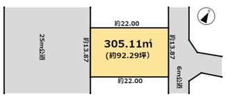 【区画図】陽光台2丁目9番