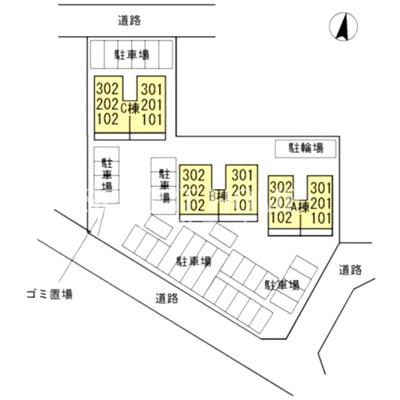 【区画図】エスパシオC
