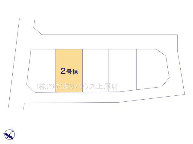 【区画図】鴻巣市人形 2期 新築一戸建て Ricca 02
