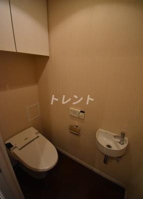 【トイレ】レジディア東麻布
