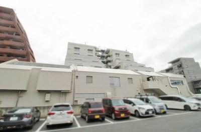桜上水マンションの駐車場です。