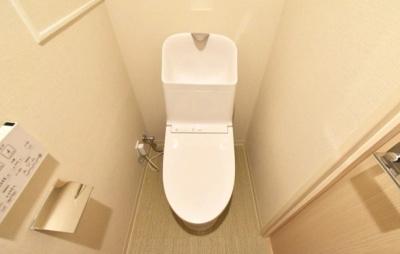 桜上水マンションのトイレです。