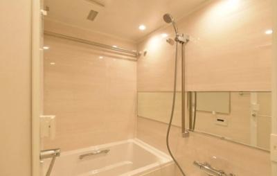 桜上水マンションのお風呂です。