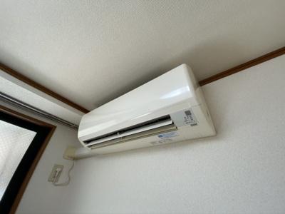 エアコン設置済みです