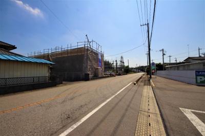 【前面道路含む現地写真】クレイドルガーデン下野市下古山第4