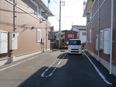 【駐車場】クラール・ハイムA