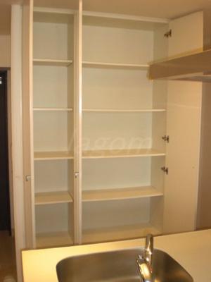 キッチンにある収納