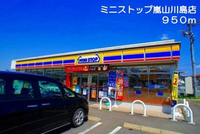 ミニストップ 嵐山川島店まで950m