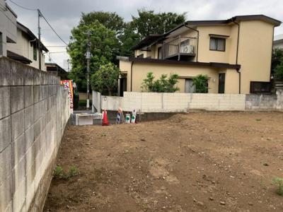 建物プランの入れやすい整形地(2021.08.29撮影)