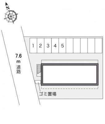 【区画図】レオパレスグランドゥール