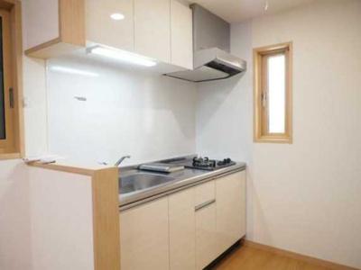 【キッチン】メゾン三宿 2人入居可 シェア可 お子様可 独立洗面台