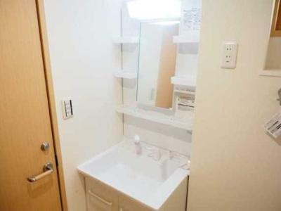 【洗面所】メゾン三宿 2人入居可 シェア可 お子様可 独立洗面台