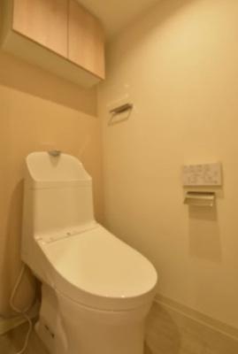 モンファイエ菊川のトイレです。