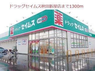 ドラッグセイムス秋田新屋店まで1300m