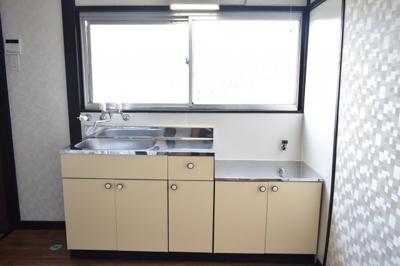 【キッチン】南区六ッ川アパート