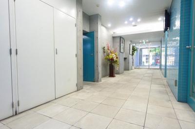 【エントランス】フローライト長堀橋