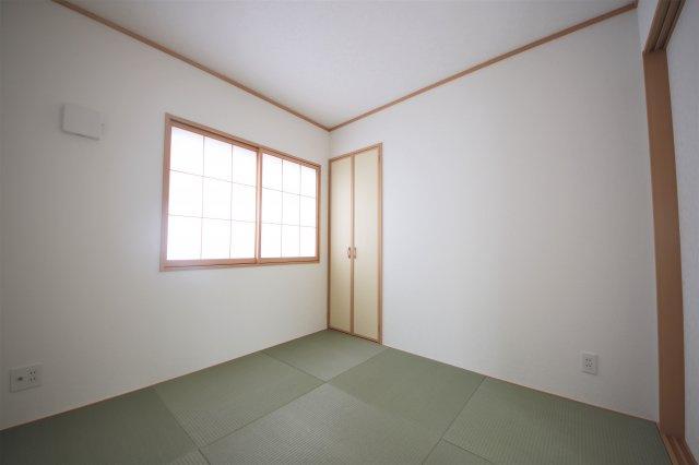 2号棟 和室があると落ち着いた雰囲気になりますね
