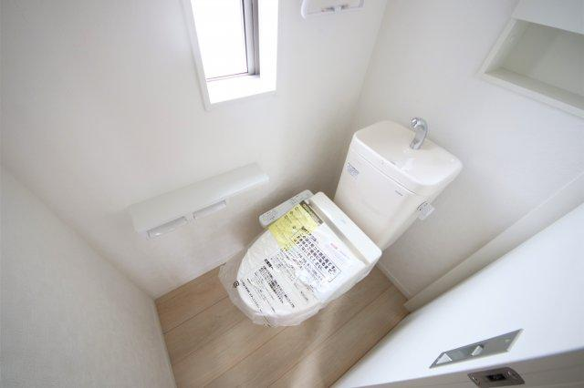 1号棟 落ち着いたトイレです
