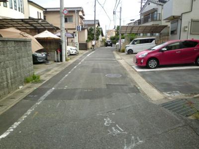 【前面道路含む現地写真】山田南山田町 一戸建