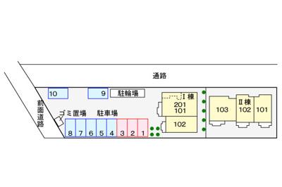 【区画図】ディアコート鎌倉Ⅲ