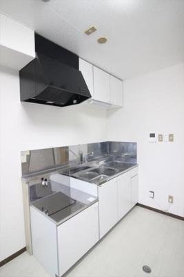 【キッチン】リバーシティロイヤルハイツA