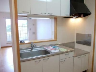 ガスコンロ設置可のキッチンです
