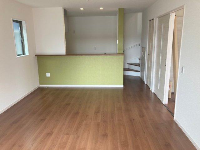 【居間・リビング】デザイン住宅『FIT』南区若久6丁目3期1号棟 4LDK