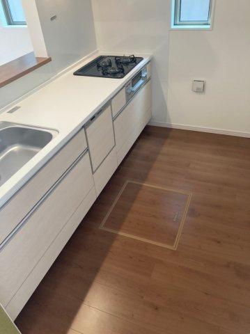 【キッチン】デザイン住宅『FIT』南区若久6丁目3期1号棟 4LDK