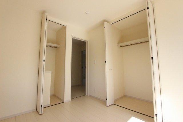 たっぷりとした収納スペースです:建物完成しました♪♪毎週末オープンハウス開催♪三郷新築ナビで検索♪