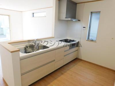 【キッチン】東大和市南街3丁目・全2棟 新築一戸建 1号棟