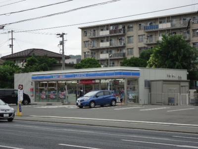 ローソン若松東二島三丁目店まで1,078m