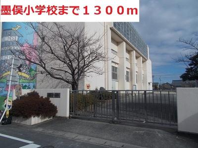 墨俣小学校まで1300m