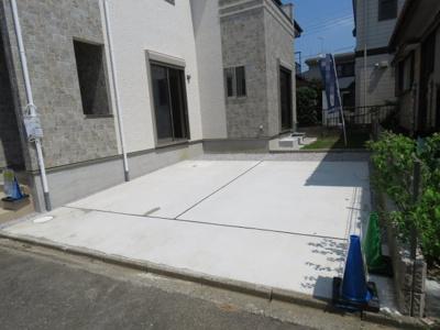 【駐車場】川越市吉田 可変型4(5)LDK+ロフト+カースペース2台 新築戸建