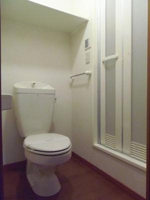 【トイレ】レオパレスウイング みちづか