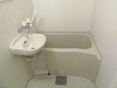 【浴室】レオパレスウイング みちづか