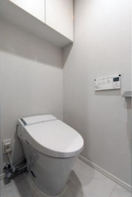 【トイレ】パークリュクス三宿 2人入居可能 独立洗面台 バストイレ別 宅配BOX