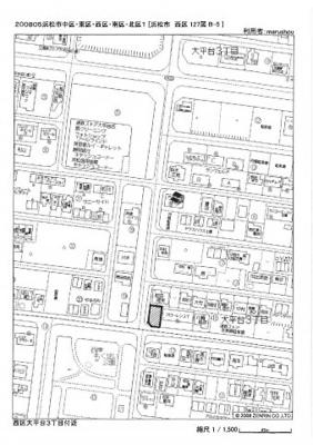 【地図】大平台3丁目118-8、118.9