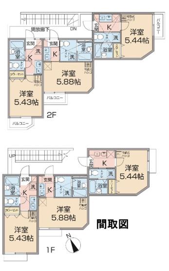 横浜市港北区日吉7丁目の一棟売りアパート